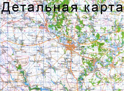 карта прилук